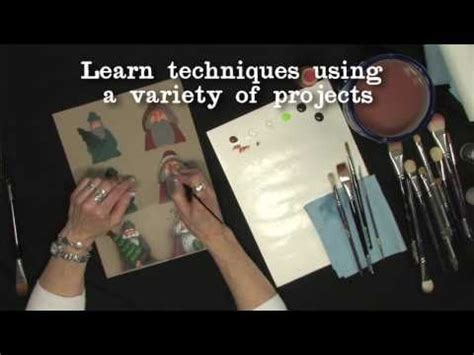 learn decorative painting learn painting techniques from maxine thomas in this short