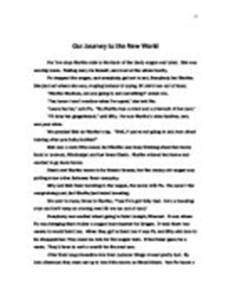 The Journey Essay Journey Essay Describing A Person Essay Cover Letter Essay Exles by Creative Writing Journey Gcse Marked By Teachers