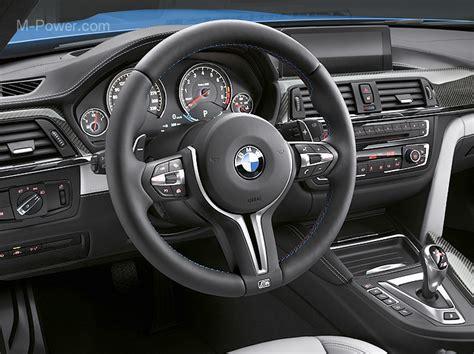 the interior design of bmw m4 and m3