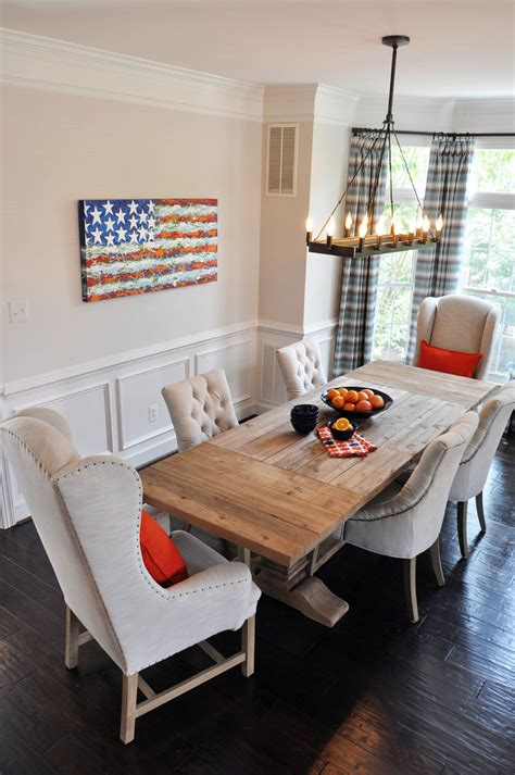 farmhouse dining room home design ideas pictures remodel awe inspiring home decor patriotic decorating ideas