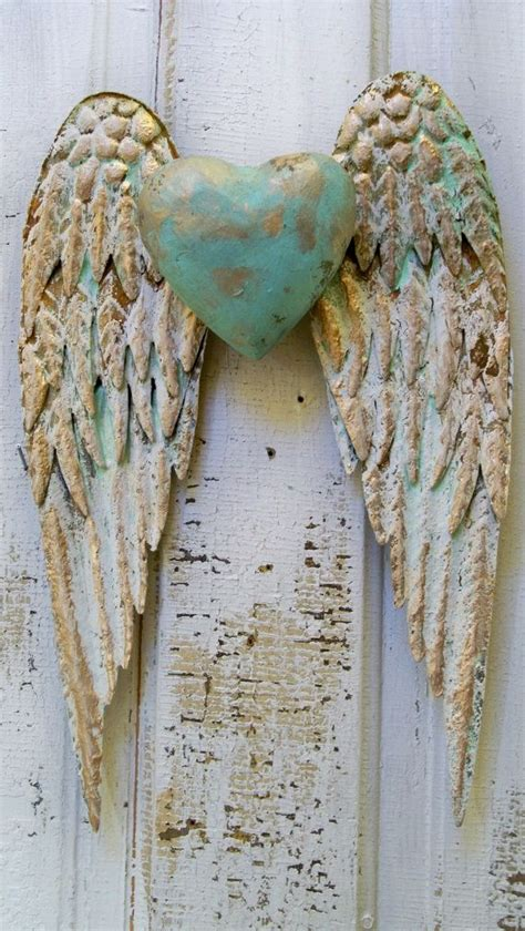 Wall Decor Wings by Wings Wall Decor With White And Gold Shabby