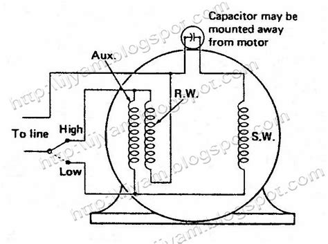 split capacitor motor wiring diagram split get free