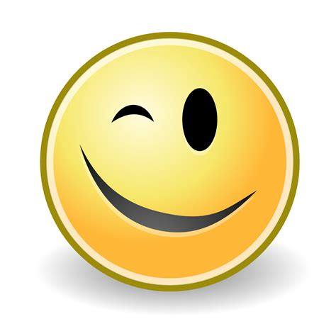 winking face clipart free download best winking face winking face clipart best