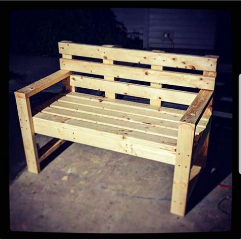 diy  outdoor bench  backrest myoutdoorplans
