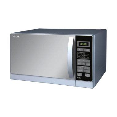 Microwave Sharp R 728 S In jual sharp r728 microwave silver harga
