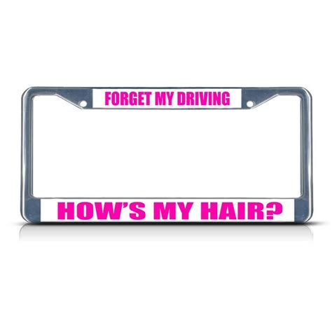 Vanity License Plate Frames by 1000 Ideas About License Plate Frames On