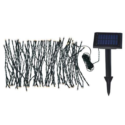 home depot led string lights solar garden 62 in integrated led string lights 60565