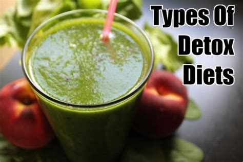 Types Of Detox Cleanses by Detox Diets For A Healthier Lifestyle
