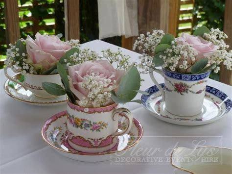 Tea Cup Decorations by Tea Cup Decorations Jpg Quot Tea For Two Quot Wedding