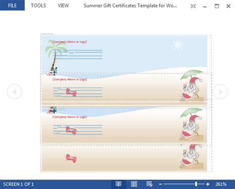 microsoft office gift certificate template best teacher award