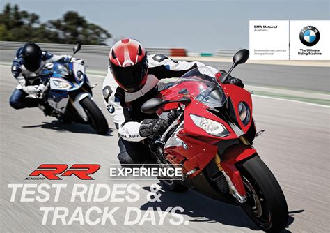 Bmw Motorrad Experience by Bmw Rr Experience Track Day Test Rides Mcnews Au