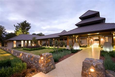 arquitectura de casas casa resort dise 241 o zen por estudio