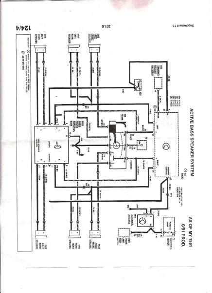 93 300e need help w wiring diagram for radio mbworld