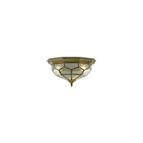 Flush Fit Ceiling Lights Searchlight Flush Fitting Antique Brass