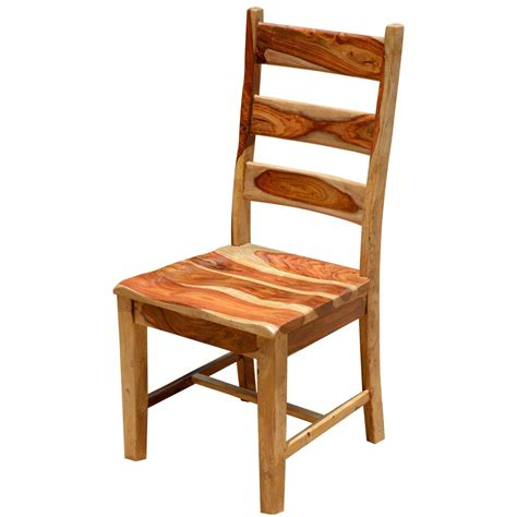 Dallas Ranch Solid Wood School Back Dining Chair Wooden Dining Chairs