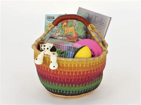 Rumpus Room Brunswick Maine by Fair Trade Baskets From Africa