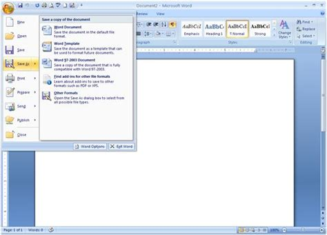 Word Office 2007 Word 2007