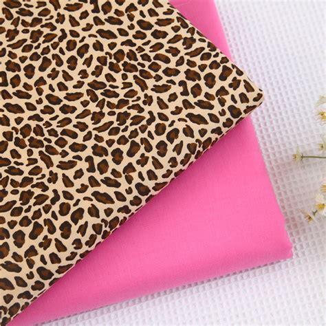160cm 50cm 100 Cotton Cloth Handmade Quilt Diy Skin Cloth - 160cm 50cm leopard 100 cotton cloth baby bedding