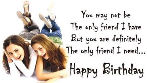Happy Birthday Best Friend Wishes Happy Birthday Wishes For Friends Birthday Quotes For