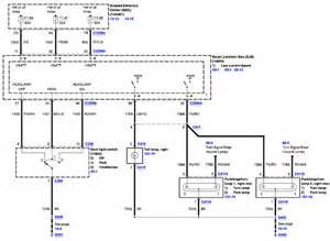 parking lights wiring diagram for ford wiring diagram