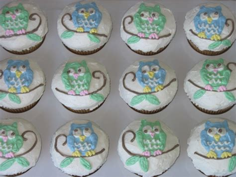 owl baby shower cupcakes tiers of cakery owl baby shower cupcakes