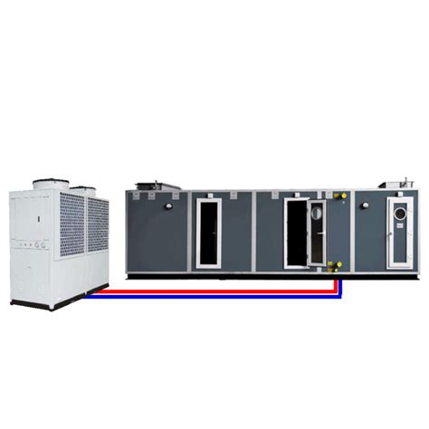 dx fan coil hvac type air handling unit ahu with direct expansion dx