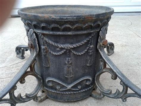 heavy cast iron christmas tree stand 35 best images on iron recliners and rocking chair pads