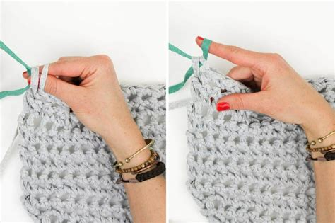how to switch colors when crocheting how to switch colors in finger crochet make do crew