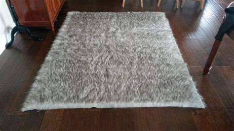 Large Fur Rugs large faux fur area rug