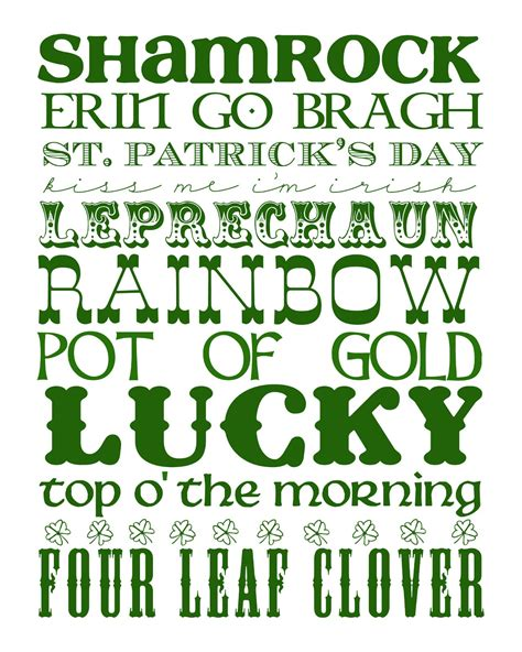 printable irish font life inside nickie s little bubble st patrick s day roundup
