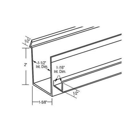 Aluminum H Section by Sliding Door Frames Sliding Door Pros Llc 740 972 2275