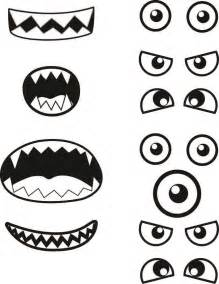 Monsters Template by Printables