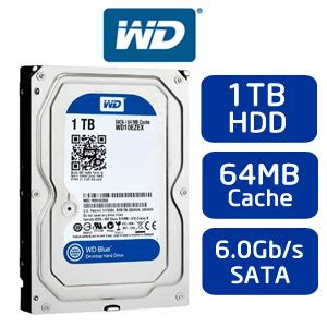 Wd Blue 3 5 1tb Blue Hdd Sata Harddisk Hadisk Hd 1 buy western digital blue 1tb hdd at evetech co za