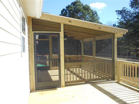 screen rooms for decks screen room 2 tallent s decks