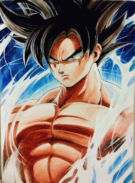imagenes de goku limit breaker goku limit breaker drawing by zoegamimg on deviantart