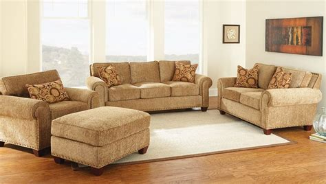 Living Room Gold Sofa Steve Silver Set 4 Living Batavia Room In Gold