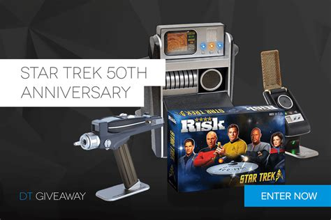 Star Giveaways - dt giveaway star trek 50th anniversary digital trends