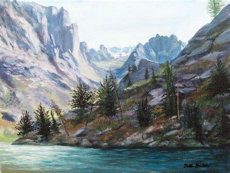 painting montana majestic montana painting by patti gordon