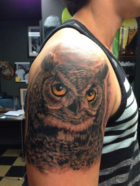 great horned owl tattoo design 1859 best owl tattoos uil tattoos images on