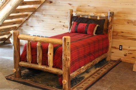 log bed kits log bed frame kits bed frame mke how to build a log bed