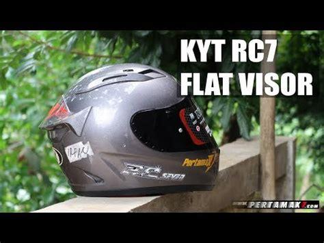 Helm Kyt R10 Flat Visor kyt rc7 flat visor pertamax7