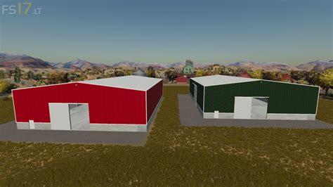 placeable large sheds   fs mods