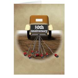 30th Anniversary Favors by 30th Wedding Anniversary Gifts Greeting Card Zazzle
