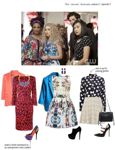 Carrie Diaries Wardrobe by Get The Look The Carrie Diaries Episode 3 Corals Cognacs