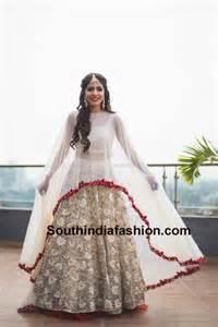 cape styles 10 amazing lehenga dupatta drapes south india fashion