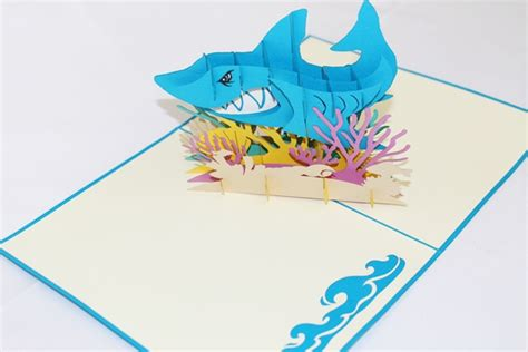 Shark Tank Gift Card - 3d shark tank greeting card gas 0153