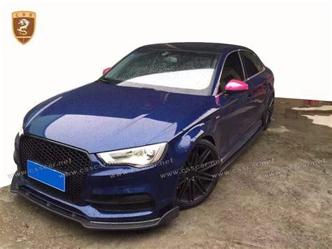 Bodykit Audi A3 by For Audi A3 Carbon Fiber Kit 2016 Cf Front Rear Lip