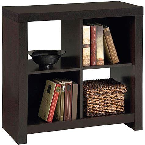 larkin 4 cube storage by ameriwood espresso black forrest
