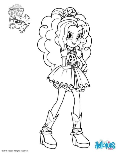 my little pony sirens coloring pages 15 printable my little pony equestria girls coloring pages