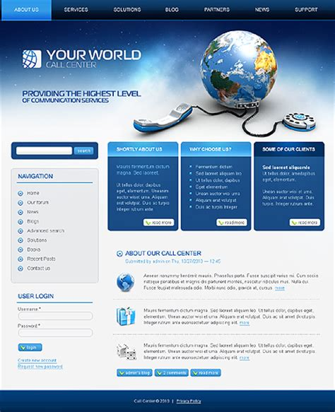 drupal site templates business drupal template 387